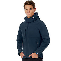 B&C - Hooded Softshell Men