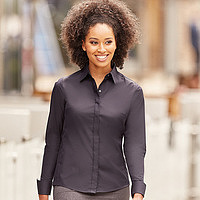 Russell - Ladies LS Ultimate Stretch Shirt