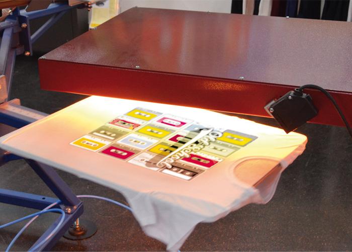 Textiler Siebdruck Einsteigerseminar