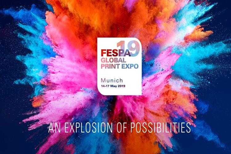 FESPA München - Gröner mit 3D Großformat Drucker